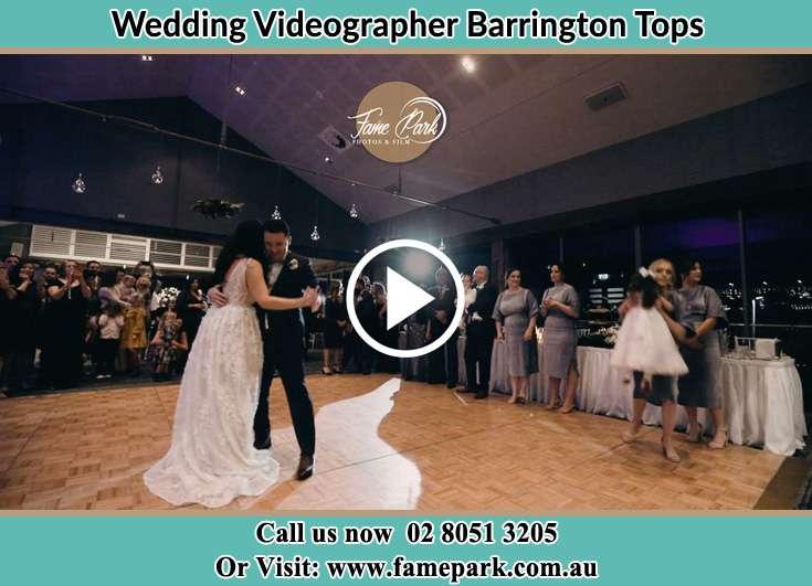 The new couple dancing on the dance floor Barrington Tops NSW 2422