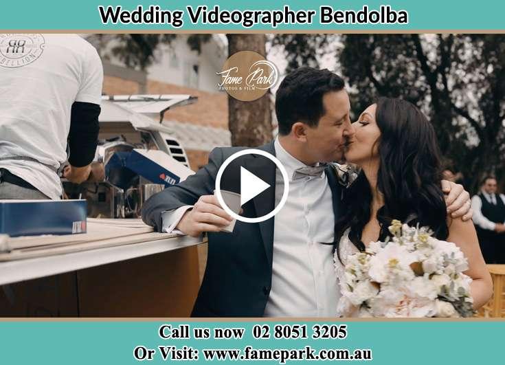 The new couple kissing Bendolba NSW 2420