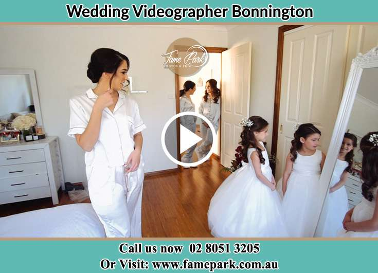 The Bride looking at the mirror Bonnington NSW 2587