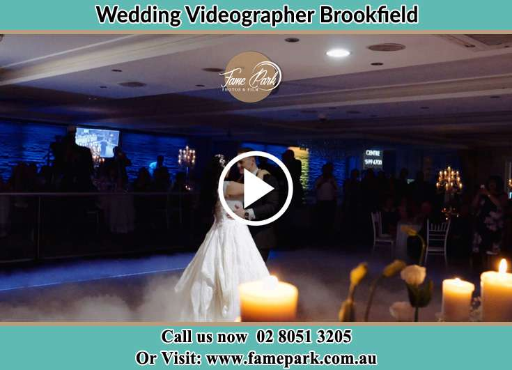 The new couple dancing on the dance floor Brookfield NSW 2420