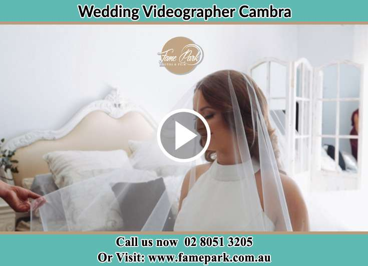 The Bride posing for the camera Cambra NSW 2420