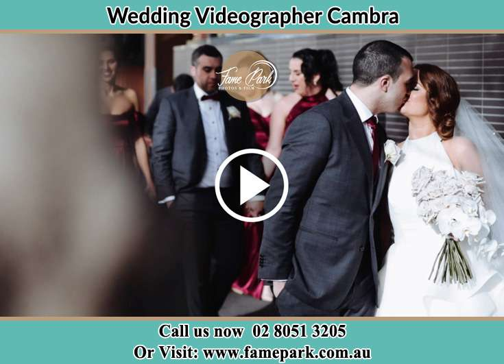 The new couple kissing Cambra NSW 2420