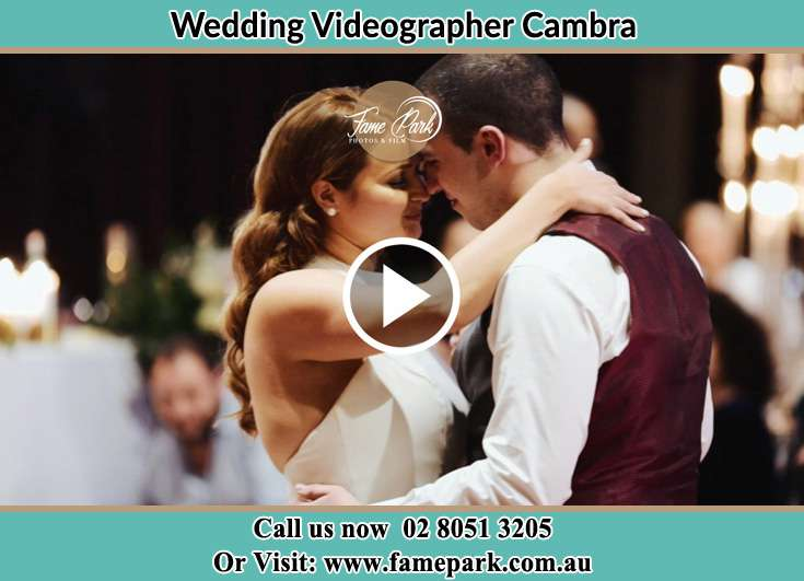 The Groom and the Bride looking at each other while dancing Cambra NSW 2420
