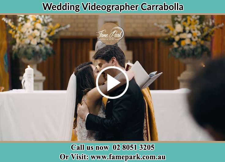 The new couple kissing Carrabolla NSW 2311