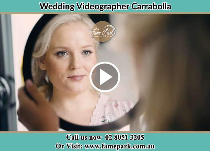 The Bride looking at the window Carrabolla NSW 2311