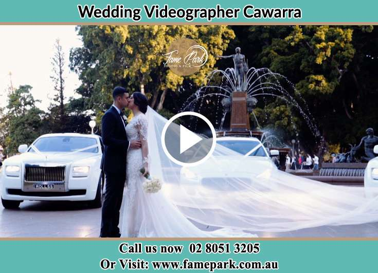 The newlyweds kissing Cawarra NSW 2229