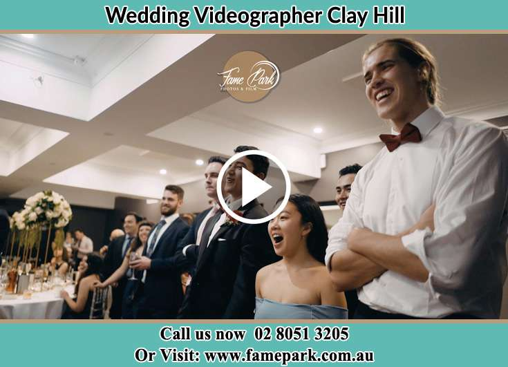 The wedding reception Clay Hill NSW 2420