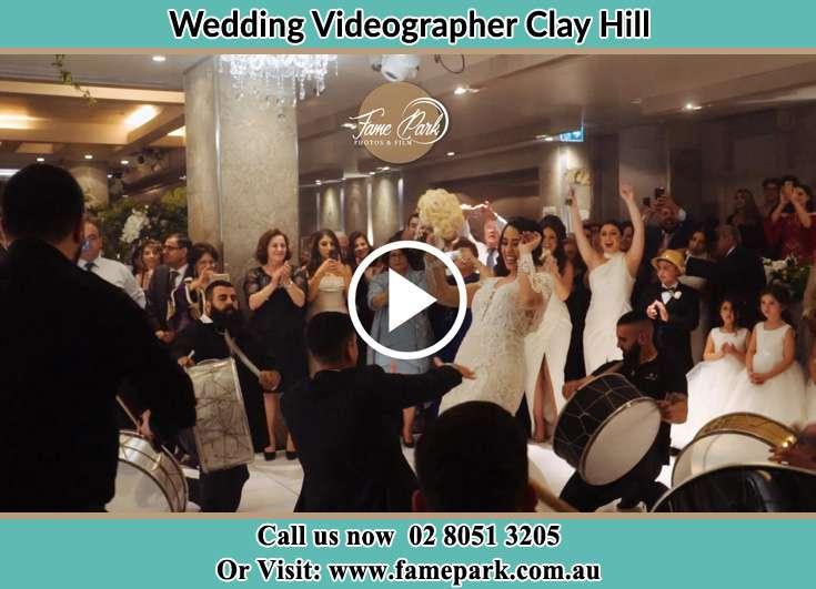 At The wedding reception venueCoree NSW 2710