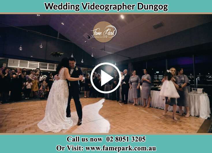 Bride And Groom Dance In The Reception Dungog