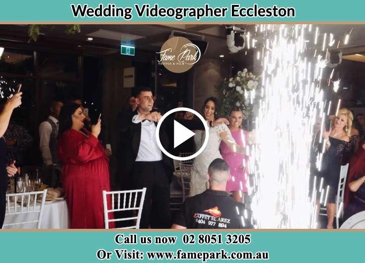 At The wedding reception Eccleston NSW 2311