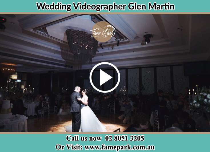 The Bride And Groom Dance In The Reception Glen Martin NSW 2321