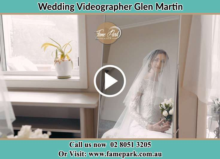 The Bride looking at the mirror Glen Martin NSW 2321
