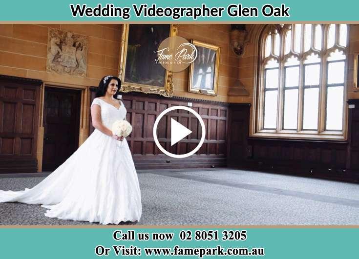 The Bride walking down the aisle Glen Oak NSW 2320