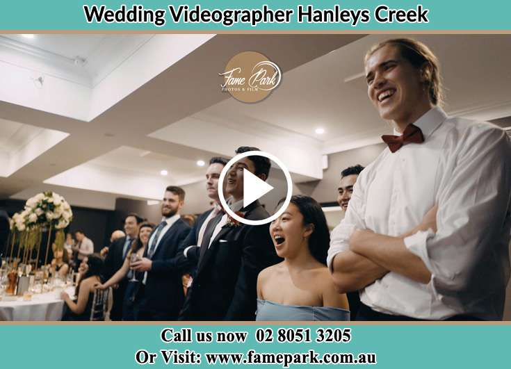 The Newlywed guest having fun at the reception Hanleys Creek NSW 2420