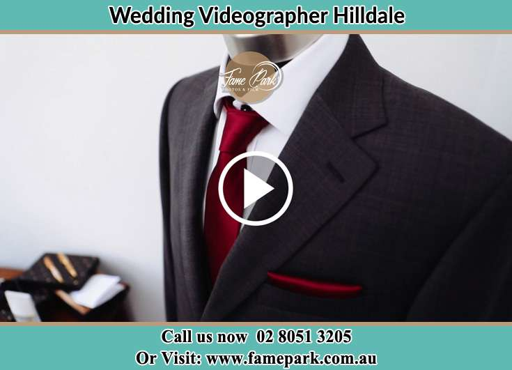 The Groom Red Necktie Hilldale NSW 2420