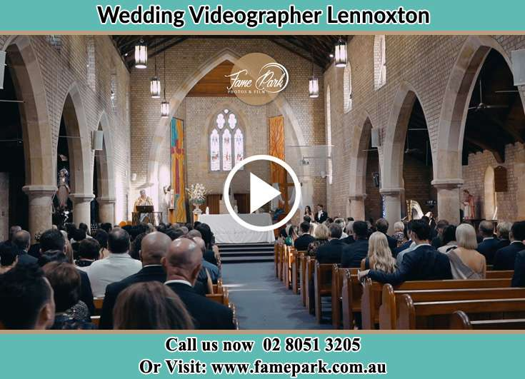 During The Wedding Ceremony Lennoxton NSW 2421