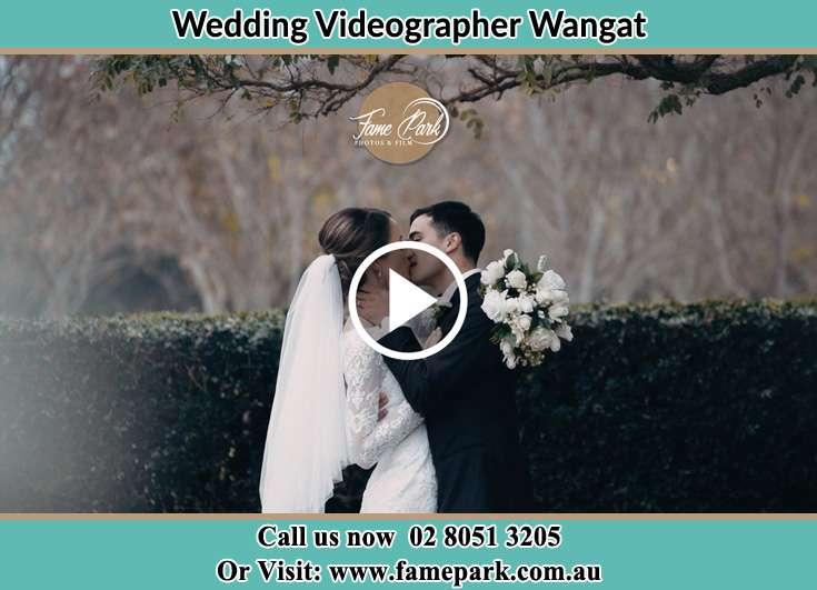 The new couple kissing Wangat NSW 2420