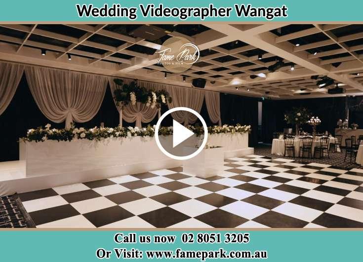 The wedding reception Wangat NSW 2420