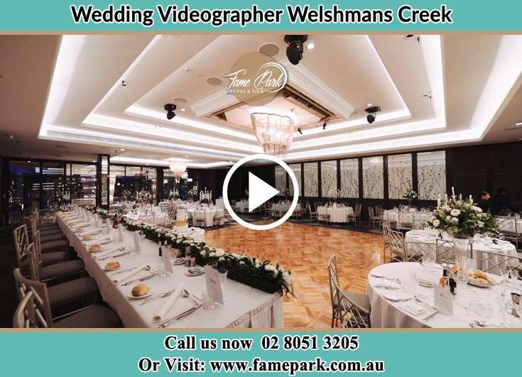 The wedding reception venue Welshmans Creek NSW 2420